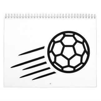 Logotipo del balonmano calendarios de pared