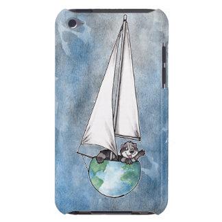 Logotipo del barco del globo iPod touch protectores