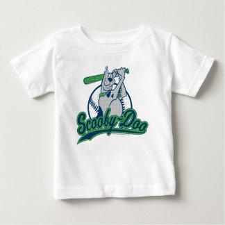 Logotipo del béisbol de Scooby-Doo Playera Para Bebé