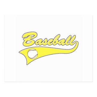 Logotipo del béisbol postal