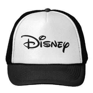 Logotipo del blanco de Disney Gorros Bordados