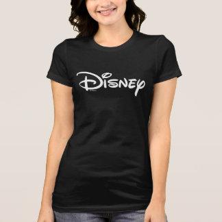 Logotipo del blanco de Disney Playera