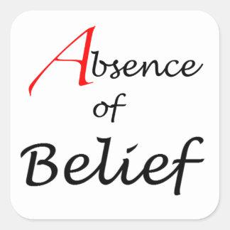 Logotipo del blog del AoB Pegatina Cuadrada