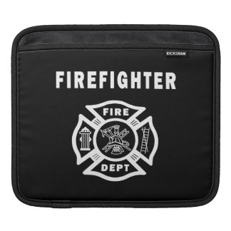 Logotipo del bombero funda para iPads