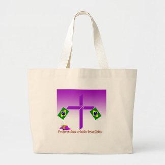 Logotipo del brasileiro de Progressista Cristão Bolsa Tela Grande