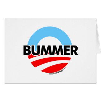 Logotipo del Bummer de Obama O Felicitaciones