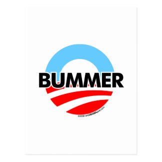 Logotipo del Bummer de Obama O Postales
