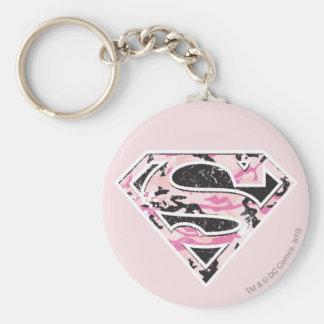 Logotipo del camuflaje de Supergirl Llaveros Personalizados