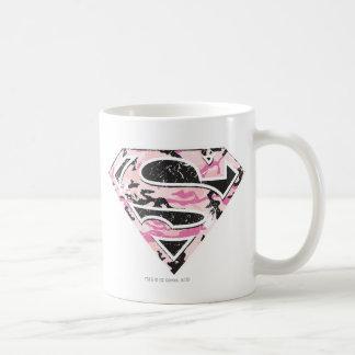 Logotipo del camuflaje de Supergirl Taza De Café