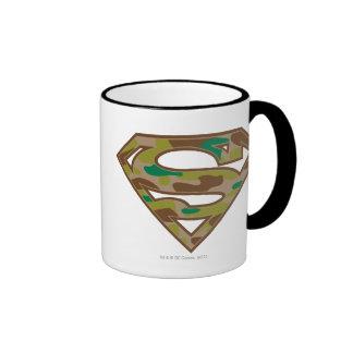 Logotipo del camuflaje taza de café