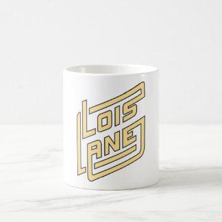 Logotipo del carril de Lois Taza De Café