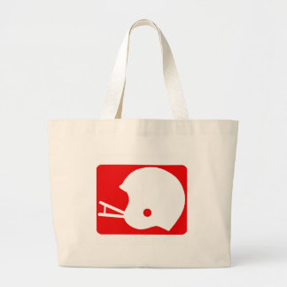 logotipo del casco de fútbol americano bolsas