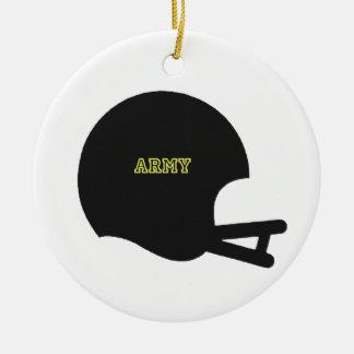 Logotipo del casco de fútbol americano del vintage adornos