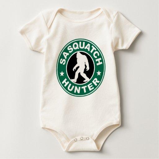 Logotipo del cazador de Sasquatch Trajes De Bebé