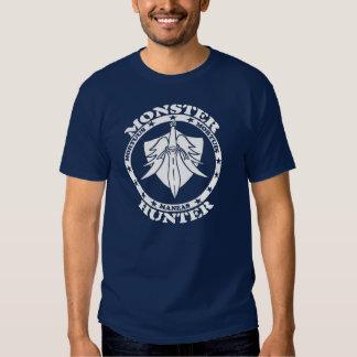 Logotipo del cazador del monstruo (frente) camisas