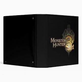 Logotipo del cazador del monstruo tri