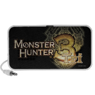 Logotipo del cazador del monstruo tri iPhone altavoces