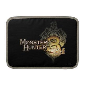 Logotipo del cazador del monstruo tri funda macbook air