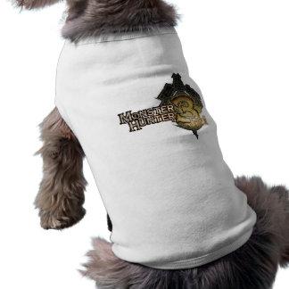 Logotipo del cazador del monstruo tri prenda mascota