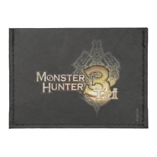 Logotipo del cazador del monstruo tri tarjeteros tyvek®