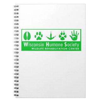 Logotipo del centro de rehabilitación de la fauna libretas