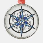 Logotipo del círculo de la natación sincronizada e ornamentos de reyes
