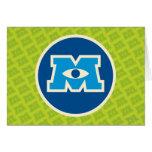 Logotipo del círculo de M Felicitación