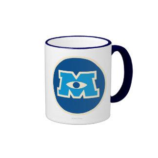 Logotipo del círculo de M Tazas De Café