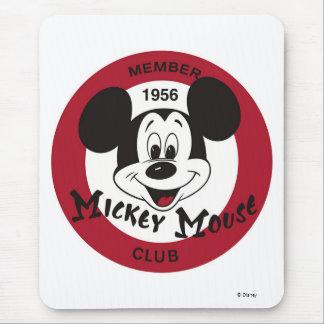 Logotipo del club de Mickey Mouse Alfombrillas De Raton