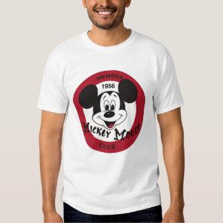 Logotipo del club de Mickey Mouse Playeras