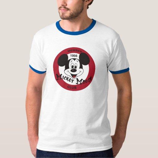 Logotipo del club de Mickey Mouse Poleras