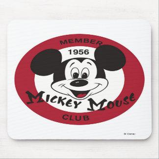 Logotipo del club de Mickey Mouse Alfombrilla De Raton