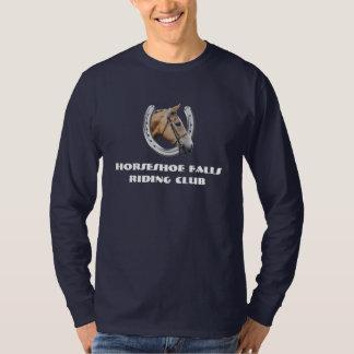 Logotipo del club del caballo para los colores polera