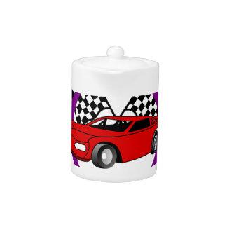 Logotipo del coche de carreras