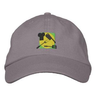 Logotipo del cocinero gorra de beisbol