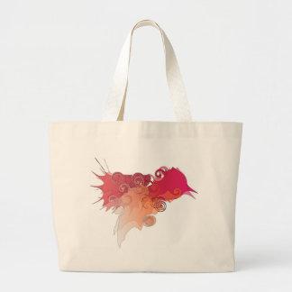 Logotipo del colibrí bolsa