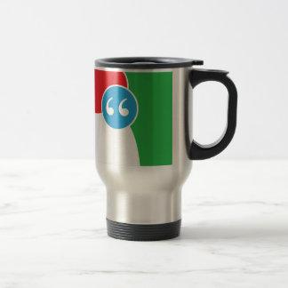 Logotipo del consenso tazas de café