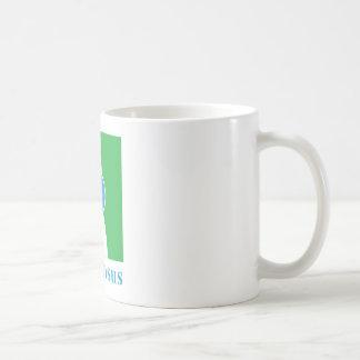 Logotipo del consenso taza de café