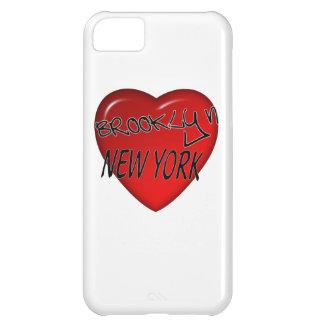 Logotipo del corazón de Brooklyn Nueva York