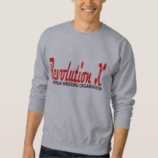 Logotipo del Cursive de la revolución X Sudadera