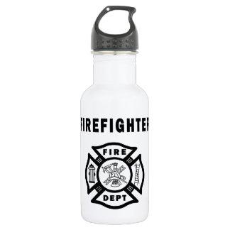 Logotipo del departamento del fuego del bombero