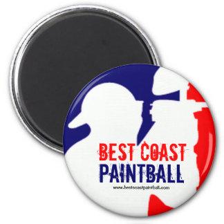 Logotipo del deporte de BCP Paintball Imán Redondo 5 Cm