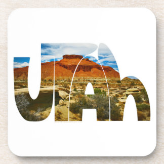 Logotipo del desierto de Utah Posavaso