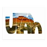 Logotipo del desierto de Utah Postal