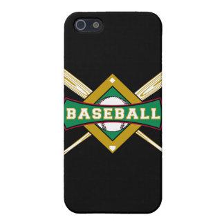 logotipo del diamante de béisbol iPhone 5 funda