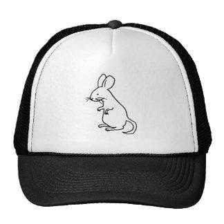 Logotipo del diseño del arte del dibujo lineal de  gorras de camionero