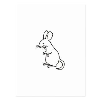 Logotipo del diseño del arte del dibujo lineal de postales