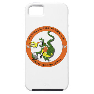 Logotipo del dragón del mantenimiento de Navsecgru Funda Para iPhone SE/5/5s