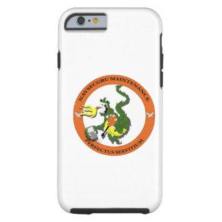 Logotipo del dragón del mantenimiento de Navsecgru Funda Resistente iPhone 6