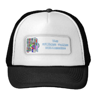 Logotipo del dulce de azúcar del refrigerador gorro